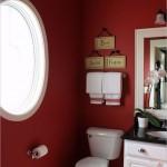 красные панели длЯ ванной