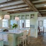 кухнЯ в зеленом цвете дизайн фото