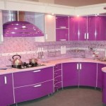 кухни фиолетовые стены фото