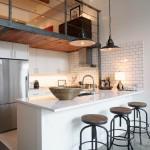 кухни лофт в интерьере фото стиль квартиры