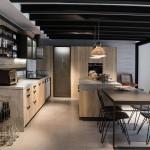 кухни лофт в интерьере интерьер реальные
