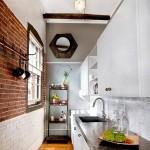 кухни лофт в недорогом интерьере фото