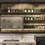 кухни в стиле лофт проекты