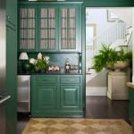 кухни зеленого цвета классика