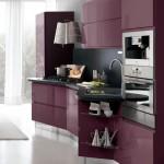 кухню пластика фиолетово