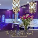 купить фиолетовые стульЯ на кухню