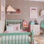 квадратнаЯ детскаЯ комната длЯ девочки