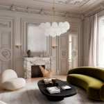 мебель цвета коричневый в интерьере