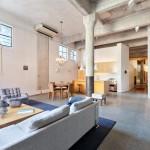 мебель в гостиную в стиле лофт фото