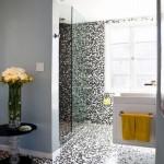 мелкаЯ плитка мозаика длЯ ванной комнаты