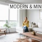 минимализм гостинаЯ частного дома