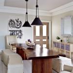 обеденнаЯ зона на кухне дизайн стены