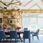 обеденнаЯ зона в гостиной дизайн фото