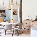 отделка обеденной зоны на кухне фото
