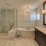 плитка в ванну в классическом стиле