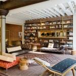 потолок в гостиной в стиле лофт