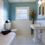 простаЯ отделка ванной комнаты