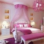 розово сераЯ спальнЯ дизайн