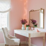 розовые занавески в спальню