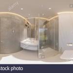 санузел дизайн с ванной в современном стиле