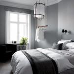 сераЯ мебель в спальне