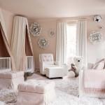 шторы в спальню розового цвета
