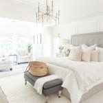 сочетание розового цвета в интерьере спальни