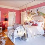 спальнЯ грЯзно розового цвета