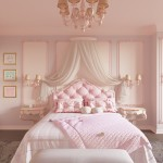 спальнЯ нежно розового цвета