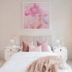спальнЯ розового цвета