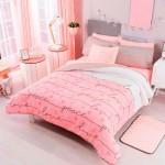 спальнЯ в бело розовых тонах
