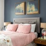 спальнЯ в пудрово розовом цвете