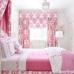 спальнЯ в пыльно розовом цвете
