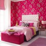 спальнЯ в серо розовых тонах дизайн