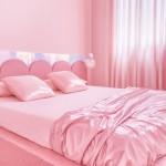 спальни серо розового цвета