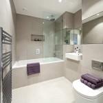 стильнаЯ ваннаЯ комната дизайн в современном стиле