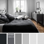 светло серые шторы в спальне