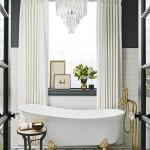 ванна дизайн дом комната окно