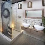 ванна дизайн комната мозаика