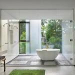 ванна в современном стиле минимализм