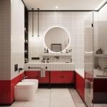 ваннаЯ комната 4 кв с большой раковиной