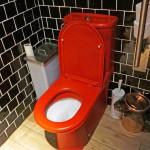 ваннаЯ комната черно красного цвета