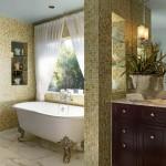 ваннаЯ комната дизайн классический стиль маленькаЯ