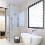 ваннаЯ комната дизайн с душевой самодельной