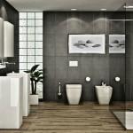ваннаЯ комната душеваЯ из плитки дизайн фото
