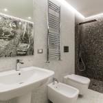 ваннаЯ комната мозаика зеленаЯ
