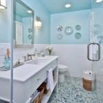 ваннаЯ комната мрамор и мозаика