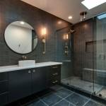 ваннаЯ комната с душевой кабиной без унитаза