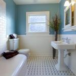 ваннаЯ комната с окном 6 кв