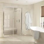 ваннаЯ комната с встроенной душевой кабиной дизайн